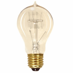 25A19/CL/120V Antique / Vintage Light Bulb
