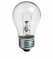 40w A15 Medium Base Crystal Clear Saf-T-Gard Ceiling Fan Light Bulb 2PK - 40A15CF/STGPQ2/6