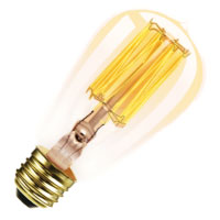 40W ST18 ANTIQUE MED 120V Antique Light Bulb