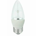 4W LED Elite Series Dimmable 27K  Blunt Tip Light Bulb - TCP Brand