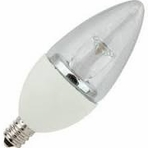 4W LED Elite Series Dimmable 27K Candelabra Blunt Tip Light Bulb - TCP Brand