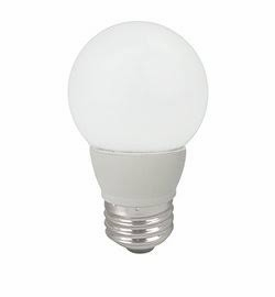 4W LED Elite Series Dimmable 27K Frosted G16 Globe Light Bulb - TCP Brand