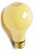 60A19YEL - Long Life 20000 Hour - Aero-Tech Bug Light Bulb