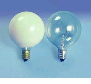 60G16.5C/W/BL 120VDecorative Light Bulb