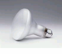 65BR30/FL/CVP 120V In candescent Light Bulb