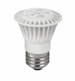 7W LED Elite Series Dimmable 24K - 20 Degree - PAR16 Light Bulb - TCP Brand