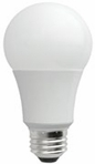 7W LED Elite Series Dimmable General Purpose 24K A-Lamp - TCP Brand