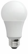 7W LED Elite Series Dimmable General Purpose 30K A-Lamp - TCP Brand
