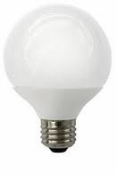 8W LED Elite Series Dimmable G25 27K Light Bulb - TCP Brand