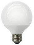 8W LED Elite Series Dimmable G25 30K Light Bulb - TCP Brand