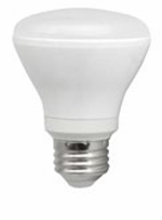 8W LED Elite Series Dimmable R20 24K Light Bulb - TCP Brand