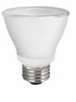 8W LED Elite Series Non Dimmable  27K Par20 Light Bulb - TCP Brand