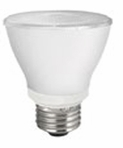 8W LED Elite Series Non Dimmable  30K Par20 Light Bulb - TCP Brand