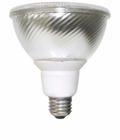 8Watt - Cold Cathode Flat Par 38 Reflector Lamp - 41K -  (TCP Brand)
