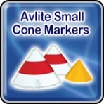 Avlite Mini Cone Markers (400mm): AV-SC