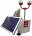 Avlite Solar Power System for ICAO Type A & B Single or Dual Obstruction Light