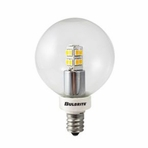 BULBRITE 2.5W LED Globe Warm White Light Bulb Non-Dimmable – 770145