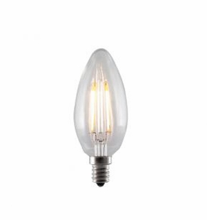 BULBRITE 2W LED Clear Filament Light Bulb - 776555