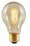 BULBRITE 4W A19 Antique LED Filament Light Bulb - 776602