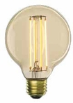 BULBRITE 4W G25 Antique LED Filament Light Bulb - 776600