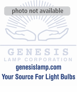 BULBRITE 4W LED A19 Half Chrome Filament Light Bulb - 776571