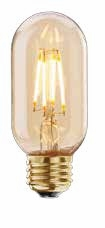 BULBRITE 4W T14 Antique LED Filament Light Bulb - 776605