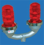 Dialight - L810 860 Series - Dual Red Low Intensity LED Obstruction Light, FAA