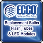 ECCO Replacement Bulbs, Flash Tubes & LED Modules