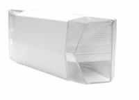 Emergency  Light - Flush - Prismatic - White Housing - (TCP Brand)