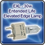 "EXL - 30w - Entended Life - Elevated Edge Lamp - Airport Light Bulb <font color=""red"">New</font>"