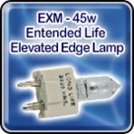 "EXM - 45w - Extended Life - Elevated Edge Lamp - Airport Light Bulb  <font color=""red"">New</font>"