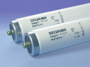 sylvania 25w t6 cool white fluorescent light bulb f42t6cw - Sylvania Light Bulbs