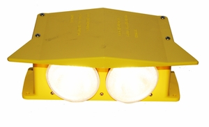 FEC LED Hooded Deck Floodlight