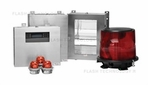FTB 224 Dual High Intensity Xenon L-856/L-864 Obstruction Lighting System - Split Enclosure - SPX Corp