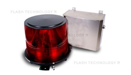 FTB 302R Medium Intensity L-864 Xenon AOL Strobe for High Intensity Applications - SPX Corp
