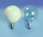 G 16.5 Shape Light Bulbs - 60 watt Decorative Light Bulbs