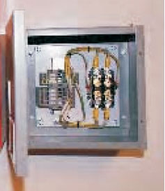 Heliport Control Box Lighting Contactor Panel