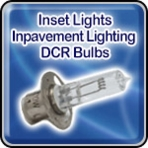 Inset Lights - Inpavement Lighting - DCR Bulbs - Airport Lighting