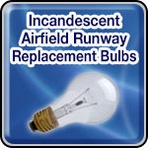 Incandescent Airfield Runway Replacement Bulbs