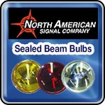 North American Signal Company Sealed Beam Light Bulbs
