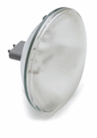 Q6.6A/PAR64/2P-200w - GE 13224 Airport Lighting Par Lamp