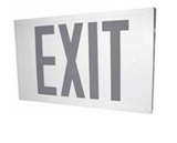 Red LED Steel Exit Sign - AC - BBU - (TCP Brand)