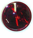 Sealed Beam Red Light Bulb - 12V - 250-77R - North American Signal