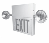 Steel Combo Red Exit & Emergency Lighting Sign – BBU - (TCP Brand)
