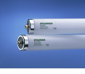 Syvania 39W T12 Cool White  Fluorescent  Light Bulb - F48T12/CW/ECO