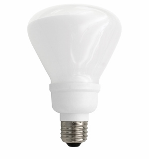 TCP 14 Watt R30 CFL Flood Light, Armor Coated Light Bulb