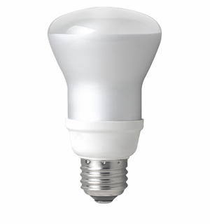 TCP - 14W – R20 Flood - Spring Light Compact Fluorescent Light Bulb - 802014