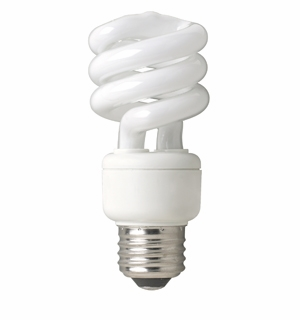 TCP - 14W - Springlamp - Mini Spring Light Compact Fluorescent Light Bulb - 801014