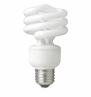 TCP - 19W - Springlamp - Mini Spring Light Compact Fluorescent Light Bulb - 801019