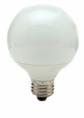 TCP 1G250941K Globe G25 Compact Fluorescent Light Bulb